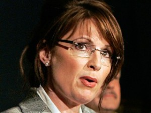 Alaska Governor and U.S. Republican vice presidential nominee Sarah Palin speaks to reporters at the Republican Governor's Association gathering at the Museum of Russian Art in Minneapolis, Minnesota, September 4, 2008.