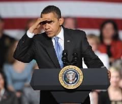 obama-peering around