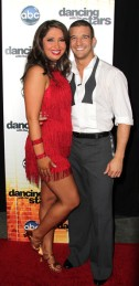 Bristol and Mark at Week 1 of Dancing with the Stars