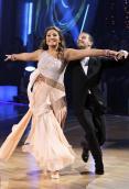 Bristol and Mark dancing the Viennese Waltz