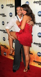 Bristol and Park Posing at Week 1 DWTS