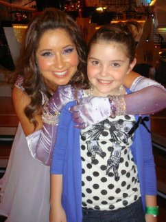 Bristol and Piper at DWTS - Week 2