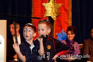 Children at 2009 Chanukah Festival - Sarah in Background
