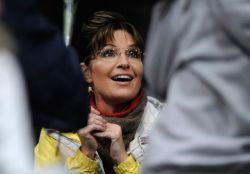 Closeup of Sarah at Anchorage book signing
