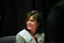Closeup of Sarah in white jacket with epaulet