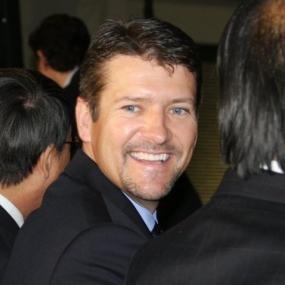 Closeup of Todd Smiling