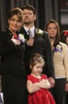 Family Photo - Saying Pledge at Gubernatorial Inauguration