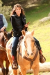 Governor Palin Riding Horse at Reagan Ranch