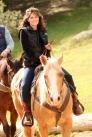 Governor Palin Riding Horse at Reagan Ranch