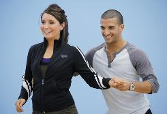 Mark and Ballas Rehearsing - from Marks DWTS Journal
