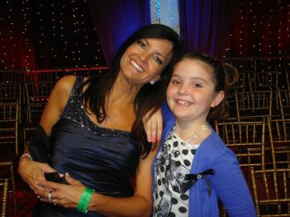 Piper and Brandi Beagle Jones At DWTS Week 2
