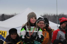Piper at Iron Dog Race
