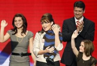Sarah and Family at RNC Convention