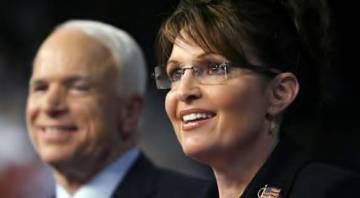 Sarah and McCain Closeup - Pleasant