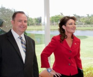 Sarah and Newsmax CEO Christopher Ruddy