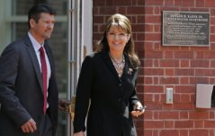 Sarah and Todd leaving courthouse in TN