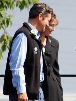 Sarah and Todd Walking Together at Virginia Beach Rally