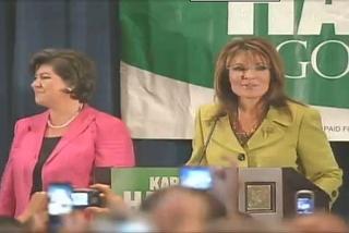 Sarah Campaigns for Karen Handel in Buckhead Georgia