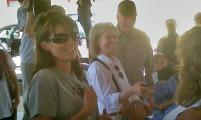 Sarah, Graham, and Greta in Haiti