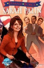 Sarah Palin comic book sequel