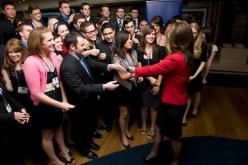 Sarah reaching out to young Republican group at Reagan Ranch