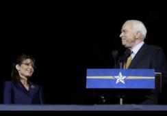 John McCain,Sarah Palin,