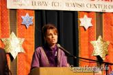 Sarah Speaking at 2009 Chanukah in Alaska