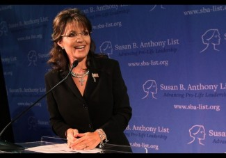 "Sarah Palin Speaks At ""Celebration Of Life"" Breakfast In Washington"
