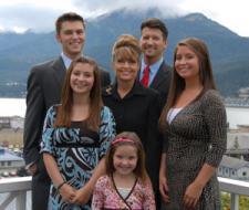 Sarah's Family - Mountains