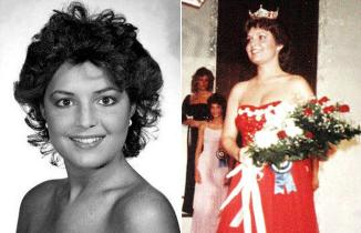 Side by Side Beauty Pageant Photos