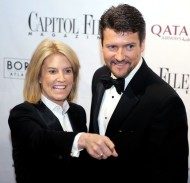 CNN correspondent Susteren and Palin arrive for Capitol File Magazine's After Party White House Correspondent's Dinner in Washington