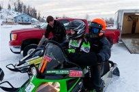 Iron Dog Snowmobile Race