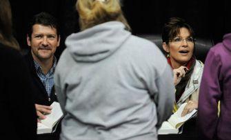 Todd and Sarah at Anchorage book signing
