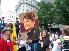 912 March - Gray Power and Sarah Palin Posters