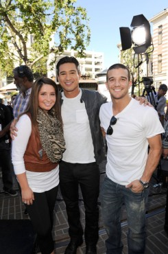 Bristol and Mario Lopez and Mark
