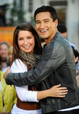 Bristol and Mario Lopez Smiling