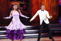 Bristol and Mark Dancing at DWTS - Week 2