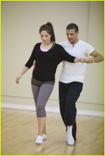 Bristol and Mark Rehearsing at DWTS