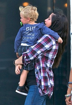 Bristol Palin and Tripp Films Scenes from their New Reality TV Show