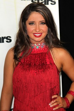 Bristol in Red Outfit at Week 1 DWTS