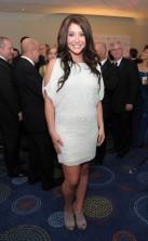 Bristol in white dress at 2011 WHCD