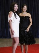 Palin and Burke arrive for the annual White House Correspondents' Association dinner in Washington