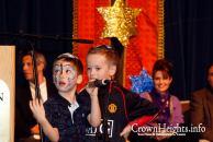 Children at 2009 Chanukah Festival - Sarah in Background
