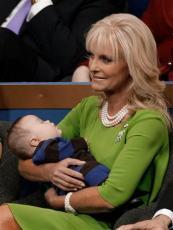 Cindy McCain Holding Trig