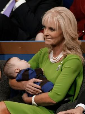 Cindy McCain Holding Trig