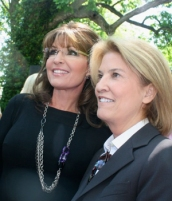 Closeup of Sarah and Greta