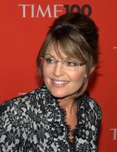 Closeup of Sarah at 2010 Time 100