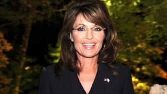 Closeup of Sarah at Bloomberg and Vanity Fair reception after WHCD April 2011