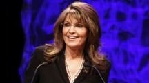 Closeup of Sarah at Tea Party Convention Speech