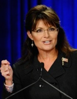Sarah Palin Attends RNC Rally